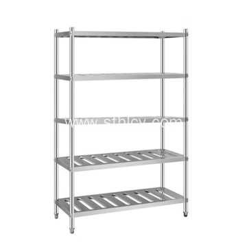Hot sell 4-Layer Kitchen Stainless Steel Storage Rack