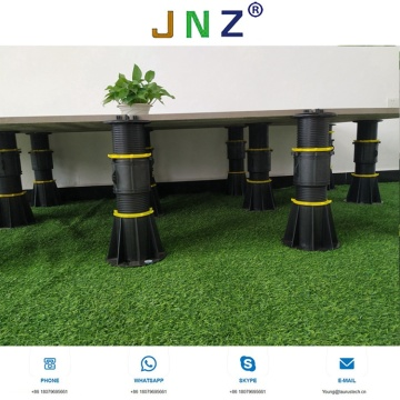 Adjustable pedestal for balcony terrace  garden decking
