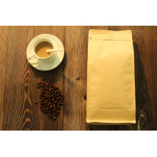 1000g flat bottom side gusset kraft paper bag