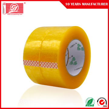 Yellowish Bopp Adhesive Tape Wrap Packing Tape