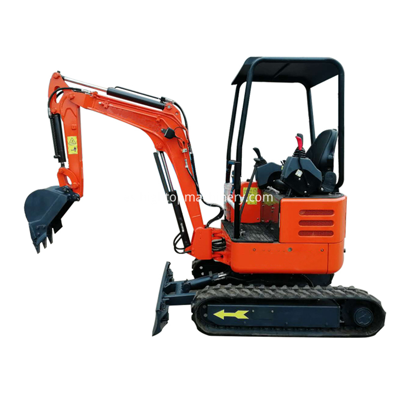 towable mini excavator-2