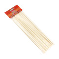 100pcs food grade round bamboo rotating bbq skewers