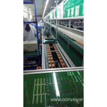 OEM manufacturer custom for Drive Pallet Chain Conveyor Customized Touch Screen Speed Chain Conveyor export to South Korea Manufacturers