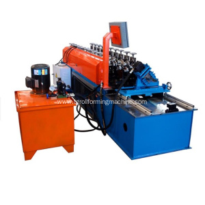 Ceiling Metal U Channel Roll Forming Machine