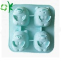 Silicone 4Cake Mould Cute Cartoon Baking Mold