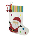 Christmas santa claus pattern stocking