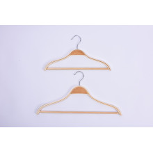 OEM for China Clamp Hanger,Laminated Hanger,Laminated Wooden Hangers Supplier Anti- Slip Shoulder Design Laminated Hangers export to South Korea Importers