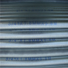114mm diameter hot dip galvanized steel pipe