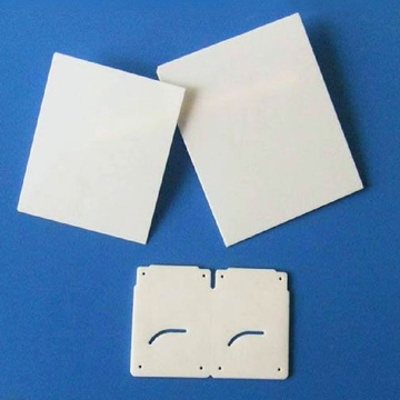 Customised laser cutting ceramic alumina substrate