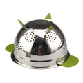 Fruit Basket Sink Stainless Steel Strainer Metal Colander