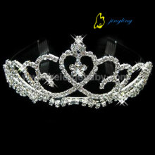 High Quality Industrial Factory for Wedding Tiaras and Crowns Middle crystal custom pageant tiaras CR-019 export to Finland Factory