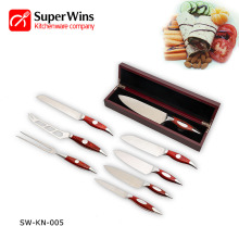 High Quality Sharp Stainless Steel Kitchen Knife Set
