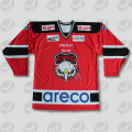 Custom made canada team breathable ice hockey jerseys