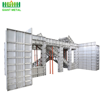 Recycle Aluminium Wall Panels Concrete Formwork System