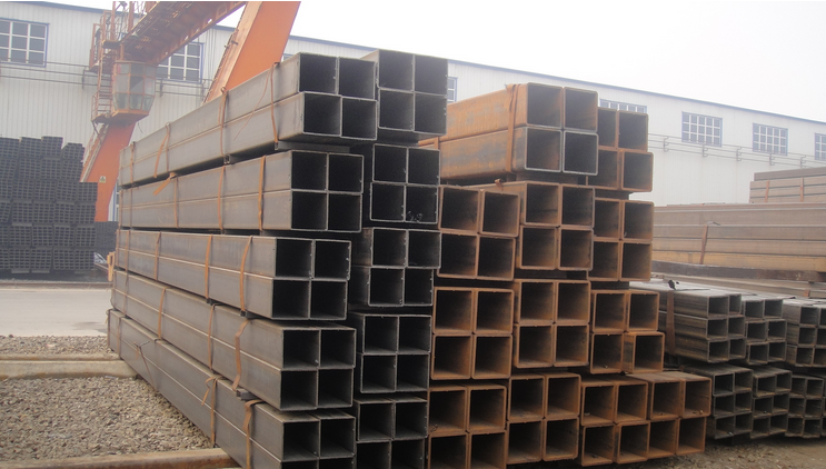 Hot rolled Q235 Carbon steel Square tube