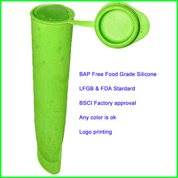 Stick Shape Silicone Snack Container with Lid