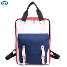 Girl canvas student travel backpack