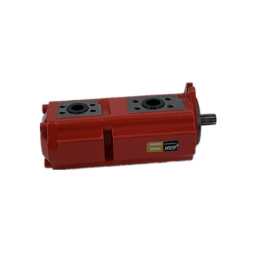 road sweeper external double gear pumps