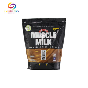 Resealable Ziplock Stand Up Pouches For Protein Powder