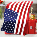 plush childrens national flag printing beach towels