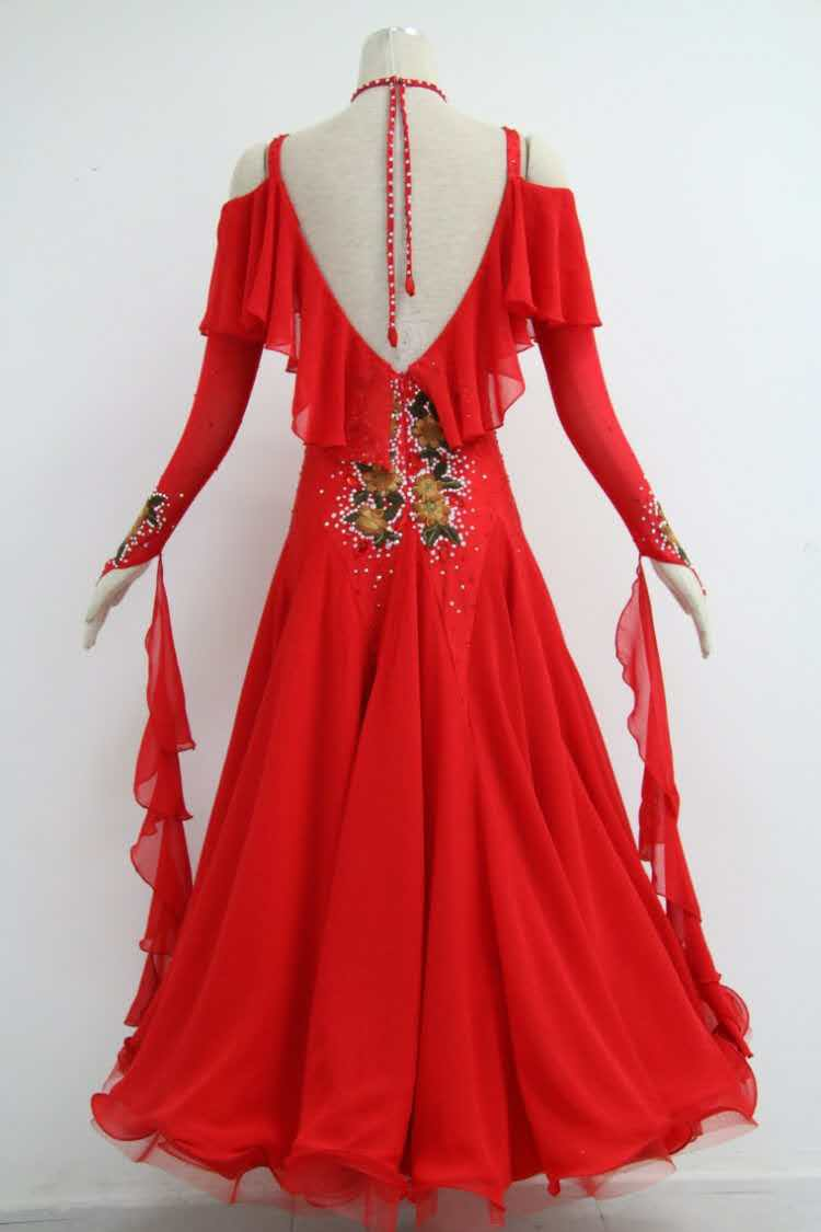 Red Ballroom Dresses