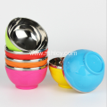 Colorful High Quality Stainless Steel Rice Bowl