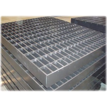 Safety barriers grating installation