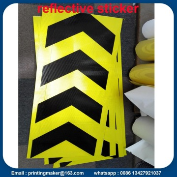 Road Reflective Traffic Sticker Signs