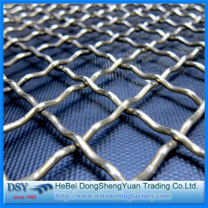 316L Stainless Steel BBQ Crimped Wire Mesh