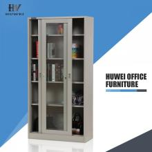 Glass sliding door cabinets office cupboards