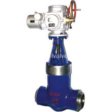 OEM/ODM for High Pressure Gate Valve Electric Actuatored Power Station Gate Valve supply to Italy Suppliers