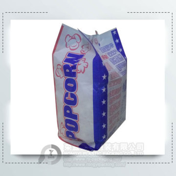 Accept Customized Printed Paper Popcorn Bag