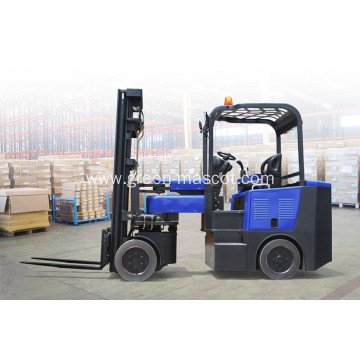 4 Wheel 1.8 Ton Electric Compact Forklift Truck