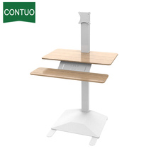 Good Quality for Adjustable Standing Desk Electric Adjustable Desktop Computer Stand Riser export to Congo Factory