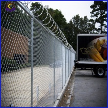 6ft Galvanized Chain Link Fence Panels