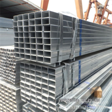 Pre-Galvanized steel square Rectangular Tube