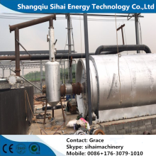 Waste PP Material Recycle to Oil Machine