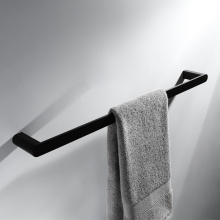 Bathroom Accessories Full Brass Black Towel Bar