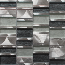 Best Quality for Natural Stone Marble Mosaic silver grey stainless steel mosaic export to Switzerland Importers