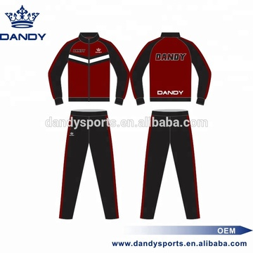 Top Suppliers for Sublimated Tracksuit custom sublimated zipper training tracksuit export to Andorra Exporter