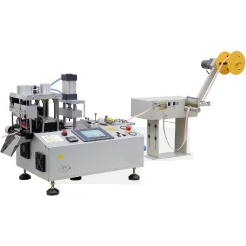 Automatic Hot Knife Angle Webbing Cutter with Hole Punching