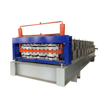 automatic double layer glazing rollforming machinery