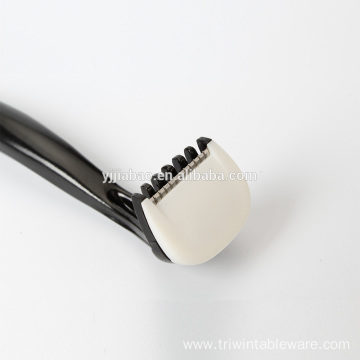 Hoe eyebrow brush/ lash comb
