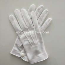Military White Nylon Gloves