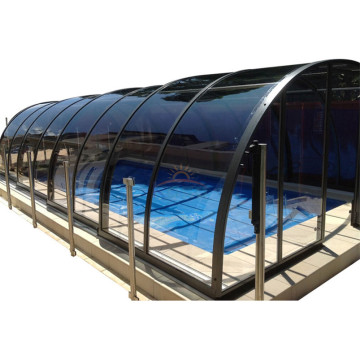 Retractable Tent Swimming Aluminium Pool Cover