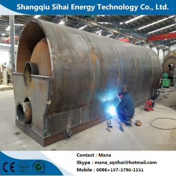 Waste  Motor Oil Distillation Plant