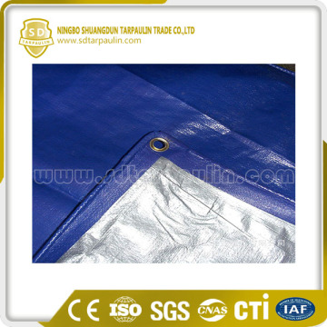 high strength waterproof fabric HDPE coated PE tarpaulin