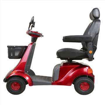 One-seat scooter for elderly
