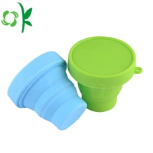 Silicone Water Expandable Collapsible Travel Cup Folding Cup