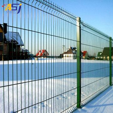 cheap price pvc coated 3d curved fence designs